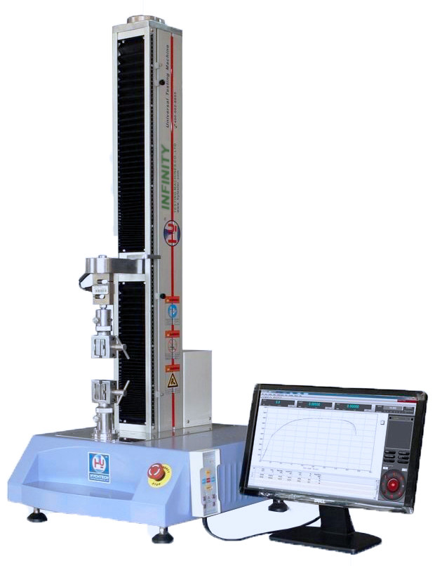 Plastic Bending Test Machine Capacity 5 KN AC Servo Motor High Accuracy