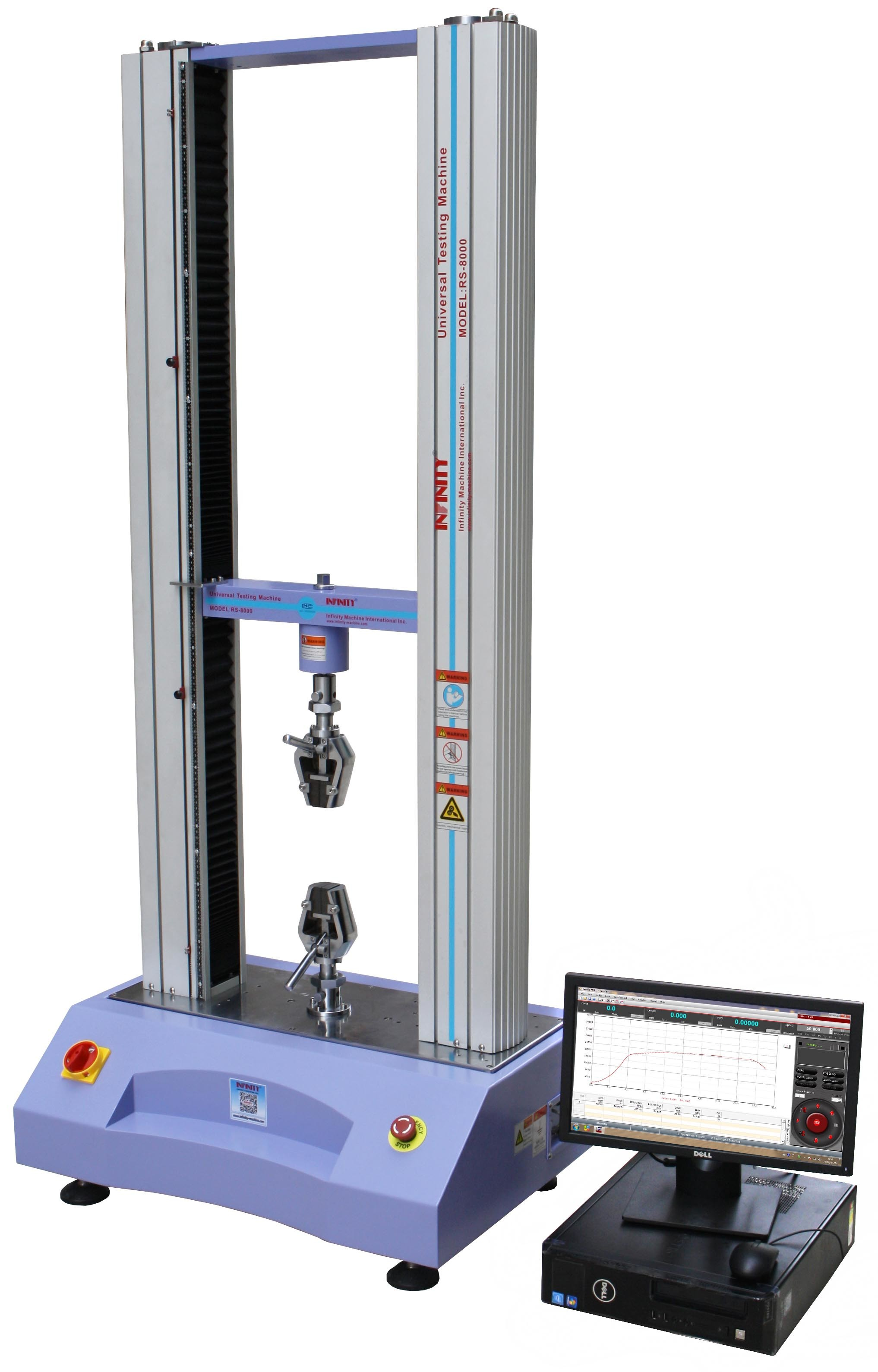 Computerized Electronic Universal Testing Machine UTM High Accuracy ISO / ASTM