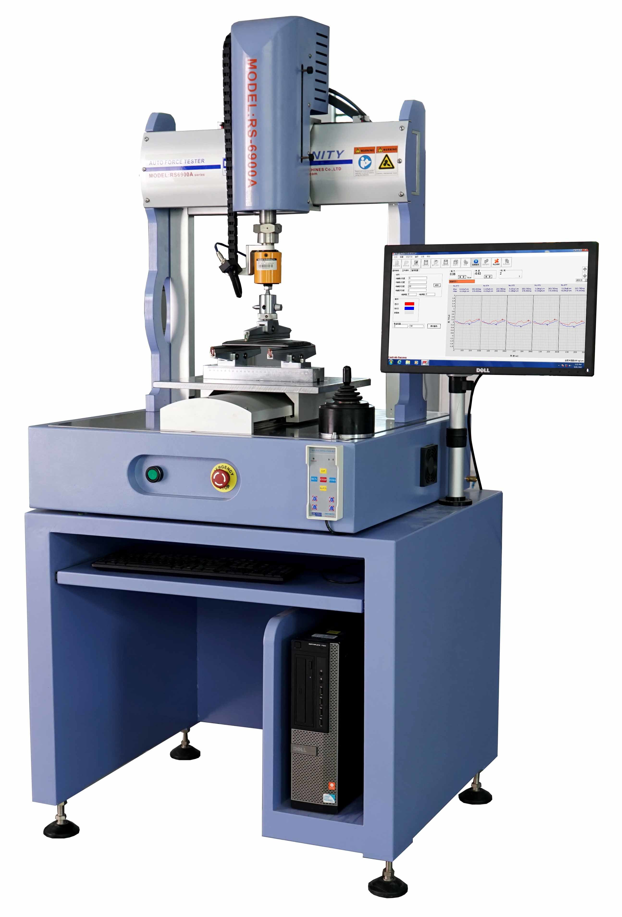Servo Control Button Force Tester Testing Equipment Compression Test Machine