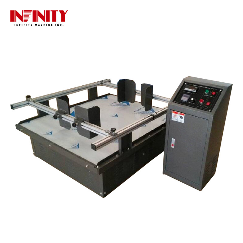 Toy Package Box Vibration Testing Equipment Food Carton Vibration Table Testing Machine Packaging Vibration Tester