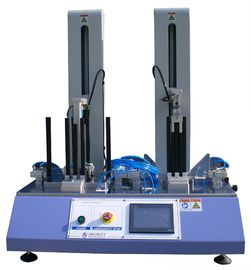 Blue 2-Station Drop Weight Tester Untuk Desktop, 5 ~ 25 Siklus / Min