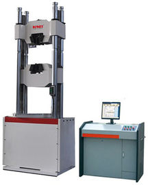 Electro Hydraulic Servo Universal Testing Machine ± 1% Force Accuracy